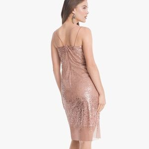 ❤️WHBM Strappy Sequin Dress
